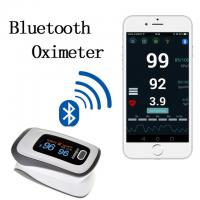Wholesale 2017 newest Bluetooth Fingertip Pulse Oximeter Oximetro de dedo Blood Oxygen Saturation Oximetro a finger for Health from china suppliers
