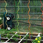 Garden planter,hot-dipped galvanized,PVC   2.5-4.0MM