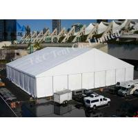 500 Seater Outside Event Tents Glass Wall And ABS Wall With Max 100KM / H Wind Load