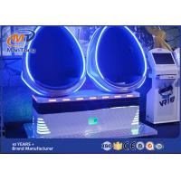 Wholesale Blue Two Seats Cinema 9D VR Simulator With 360 Degree View 750W from china suppliers