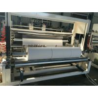 China Paper Towel Rewinder Machine With Air Inflating Shaft For Paper Roll Slitting And Rewinding on sale