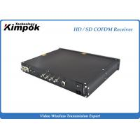 Wholesale 720P Ground Station Multi-function Digital Wireless Audio Video COFDM Receiver from china suppliers