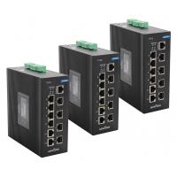 Wholesale Industrial 120W Port Ethernet Switch / Network unmanaged Switch With IEEE802.3af 10 Ports from china suppliers