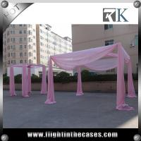 aluminum pipe and drape wedding decoration used pipe and drape for sale