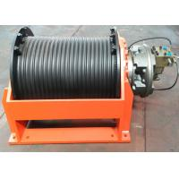 Quality Black Hydraulic Crane Winch For Hoisting 5-20 Ton Objects ISO9000 BV Certificates for sale