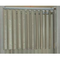 Wholesale 89mm pvc vertical blinds for windows with s shapes vane and wand control from china suppliers