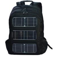 Wholesale Black Shoulder Strap Solar Charging Backpack For Outdoor Travel from china suppliers