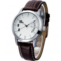 Wholesale Analog Display Leather Band Quartz Watch from china suppliers