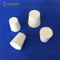 Wholesale Solid White Laboratory Rubber Plug Stopper Bungs for Flask and Tapered Tube from china suppliers