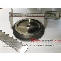 Buy cheap Electroplated CBN Grinding Wheel For Band Saw Blades-julia@moresuperhard.com from wholesalers