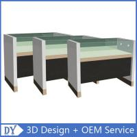 Wholesale Simple Wooden Timber Glass Display Counters With Factory Competitive Price from china suppliers