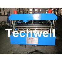 Quality Standard 686 IBR Corrugated Sheet Roll Forming Machine With 18 Forming Stations for sale