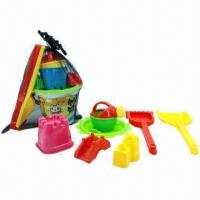 Wholesale 8-piece Beach Sand Mold Kid's Toys, Carton Sized 26 x 20 x 30cm  from china suppliers