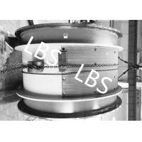 Wholesale Heavy Steel Wire Rope Winch Drum With Lebus Double Broken Line Rope Groove from china suppliers