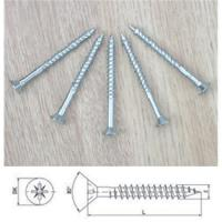 Wholesale Twiinthread Wood Screws Countersunk Pozi Drive from china suppliers