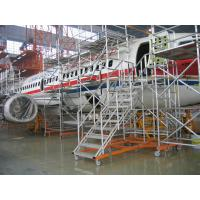 Wholesale Custom Safe Aircraft Scaffolding / Aviation APU maintenance Cargo ladders from china suppliers