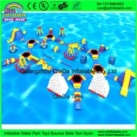 Wholesale Guangzhou QinDa Toys Giant Inflatable Water Park For Sale from china suppliers