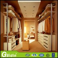 Quality online shopping China supplier aluminum pole system custom made bedroom furniture walk in wardrobe for sale