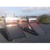Quality Closed Loop Circulation Rooftop Solar Water Heater , Solar Energy Flat Plate Water Heater for sale
