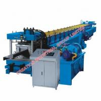 Wholesale Metal Z Section Profile Purlin Roll Forming Machine with Cold Roled Steel Strips Rollers from china suppliers