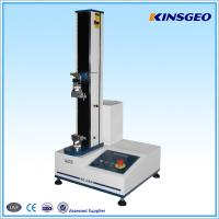 Wholesale 5,10,20,25,50,100,200,500KG CAPACITY Floor Type Tensile Tester with Single Pole for Testing Rubber ,plastic from china suppliers