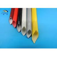 Wholesale Black White Red Custom Silicone Fiberglass Sleeving for Joint Insulating 4000V  4KV from china suppliers