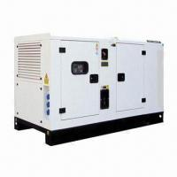 Buy cheap 25kVA silent diesel generator with Perkins engine, rated power of 20kW from wholesalers