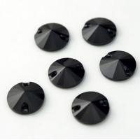 Wholesale jet black sew on crystals and beads flat back rhinestone for clothing from china suppliers