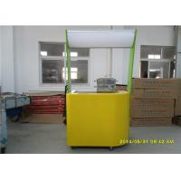 Wholesale 200KG Weight Mobile Food Carts Fast Food Kiosk For Corn Drinks from china suppliers