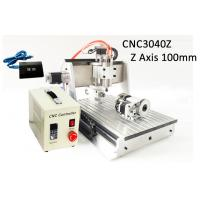 Wholesale USB Controller 4 Axis Z axis Travel 100mm 3040 CNC Router 3D 800w from china suppliers