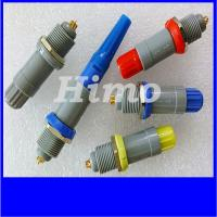 Wholesale 4 pin equivalent to lemo plug PAG push pull connector with self locking from china suppliers