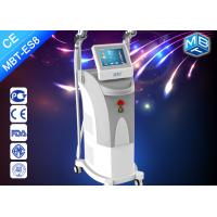 Wholesale 2 Handles Germany Flash Lamp Elight SHR IPL Hair Removal Equipment with CE approved from china suppliers
