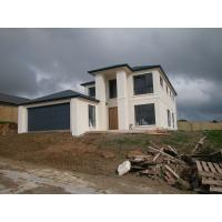 Quality New Zealand Style Prefabricated Steel House , Quick Installation Prefabricated Villa for sale