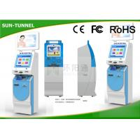 Wholesale Smart Elegant Design Cash Payment Kiosk , Multi Function Coin Deposit Machines from china suppliers