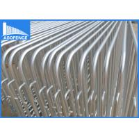 Wholesale Temporary Pedestrian Safety Fence Sliver Painted For General Public from china suppliers