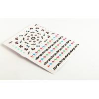 Wholesale Stickers-music Score Nail Art Decals Flower Butterflies , 2D / 3D from china suppliers
