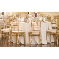 Wholesale wedding chiavari chair white tiffany chair with cushion Stack Cheap Banquet Chairs For Sale from china suppliers
