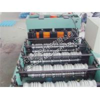 Wholesale Galvanized steel roofing sheet roll forming machine corrugated Cold Roll Former from china suppliers