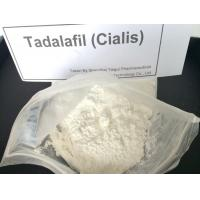Wholesale Enhancement Tadalafil / Cialis Sex Steroid Hormone Powder CAS 171596-29-5 from china suppliers