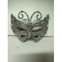 Wholesale Halloween Half Face Glittered Butterfly Mask Carnival Cosplay Party Mask from china suppliers