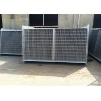 Wholesale Professional Temp Fence Panels Free Standing Metal Fence 3.8mm Diameter from china suppliers