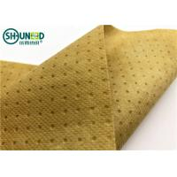 Buy cheap Three Layers Waterproof PP Spunbond Non Woven Fabric Hospital Covering Fabric from wholesalers