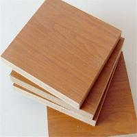 plain melamine coated MDF factory direct