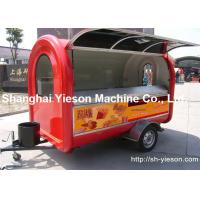 Wholesale ISO9001 Street Food Vans Perfect Kitchen Equipment Fiberglass from china suppliers