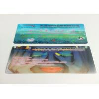Wholesale 0.6MM PET Flip Effect 3D Lenticular Business Cards UV CMYK Printing from china suppliers