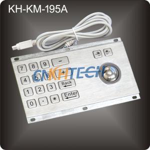 Wholesale Anti-Vandal Kiosk Metal Keyboard from china suppliers