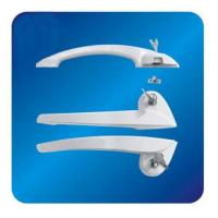 Wholesale Arc ABS Freezer Door Handle Hardware for cooler with Lock 260mm from china suppliers