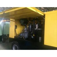 Wholesale 132KW Portable Diesel Air Compressor / Industrial Diesel Screw Mobile Air Compressors from china suppliers