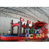 Wholesale Parties Inflatable Pirate Ship Slide With Mini Swimming Pool For Kids Play from china suppliers