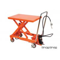Wholesale High Performance Lab Hand Lift Table With Removable Chromed Handle Frame from china suppliers
